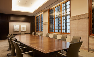 Custom Conference Table and Chairs