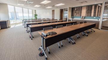 Reconfigurable training room