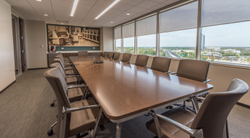 Large Custom Conference Table and Chairs