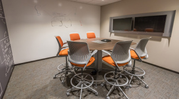 Integrated Technology in a Conference Room
