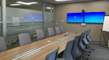 Private Conference Room with Integrated Technology