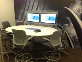 Conference Room with Integrated Technology