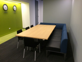 Collaborative space in the workplace
