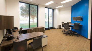Custom private office solution