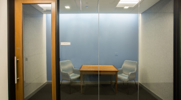 Acoustically Private Collaboration Space