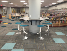 Library collaboration zone