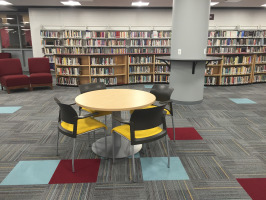 Library collaboration table