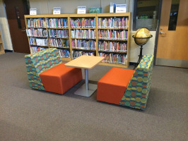 Library collaboration space