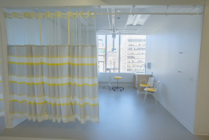 Patient room divider